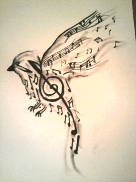 480x640 Small Music Notes Tattoo Designs (3)