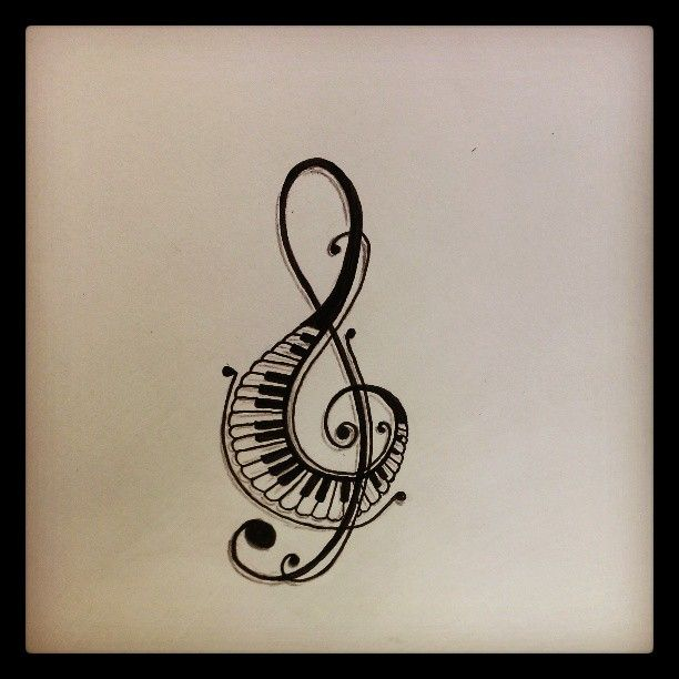 612x612 Music Notes Symbols Tattoos Clipart Panda