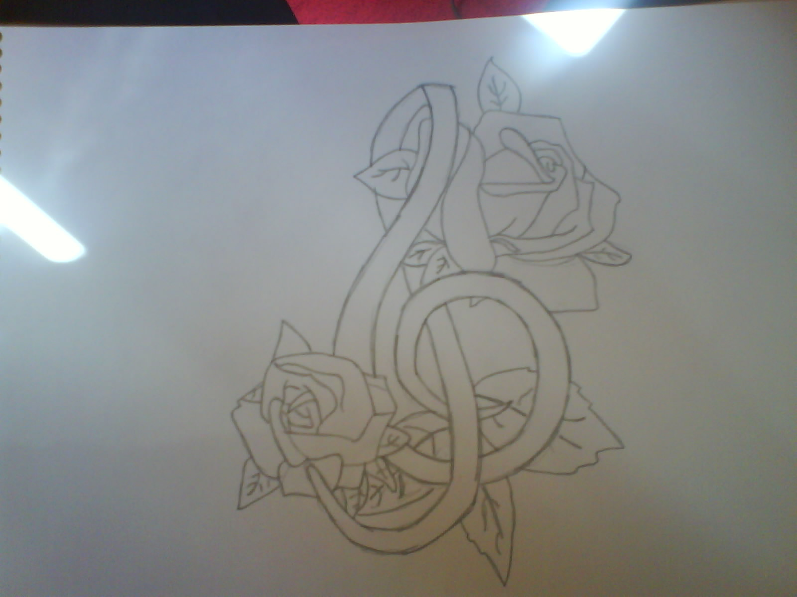 1600x1200 Musical Tattoos Music Symbol And Roses Tattoo By Plaistowkidd