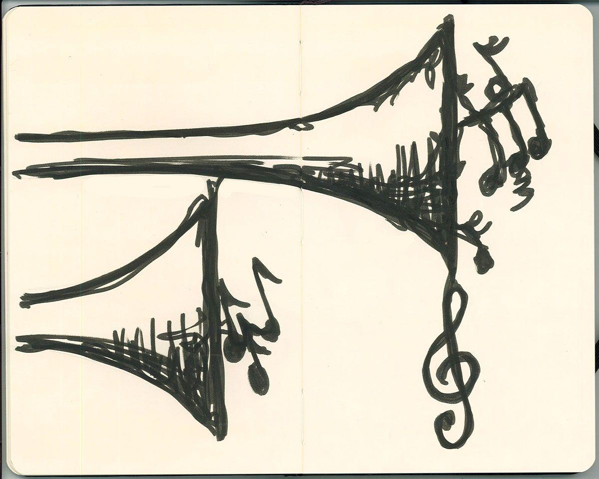 1200x961 Trumpet Music Drawings Trumpet Music, Trumpets