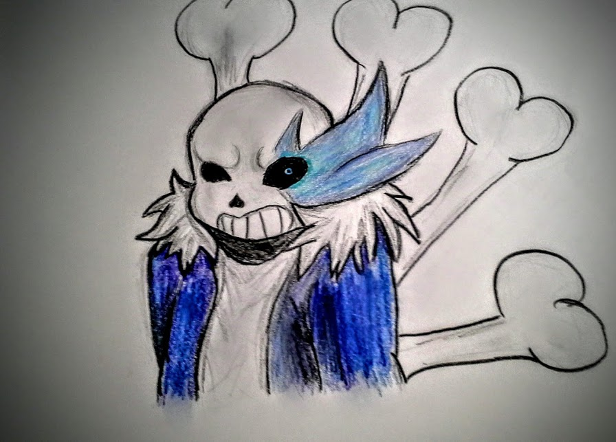 896x643 Sans Drawing By Musical Fox Maggie