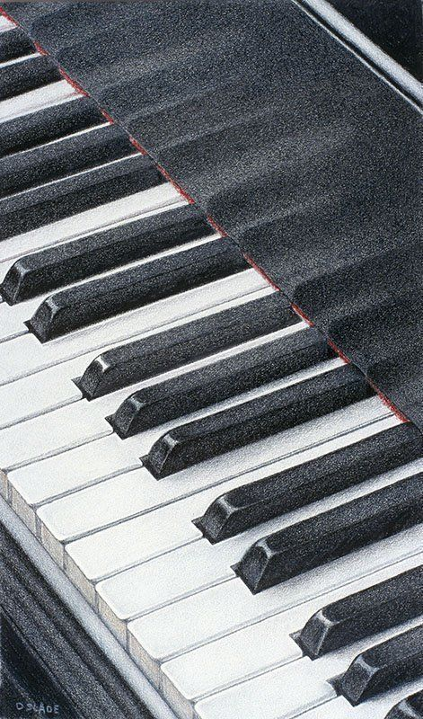 Musical Keyboard Drawing at GetDrawings com | Free for