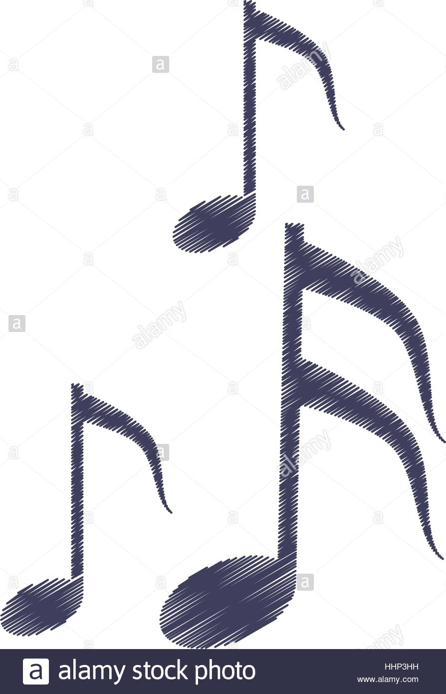894x1390 Drawing Musical Note Melody Symbol Stock Vector Art Amp Illustration