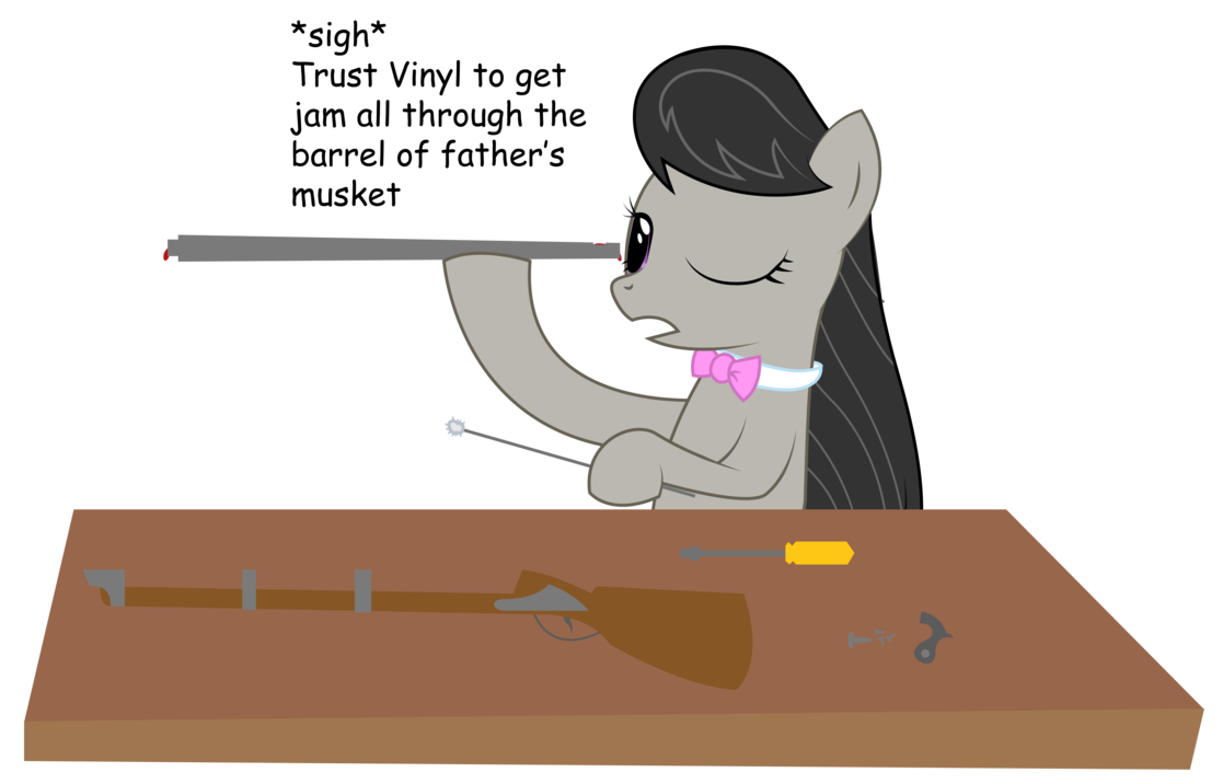 1117x716 Octavia Cleaning A Musket By Replaymasteroftime