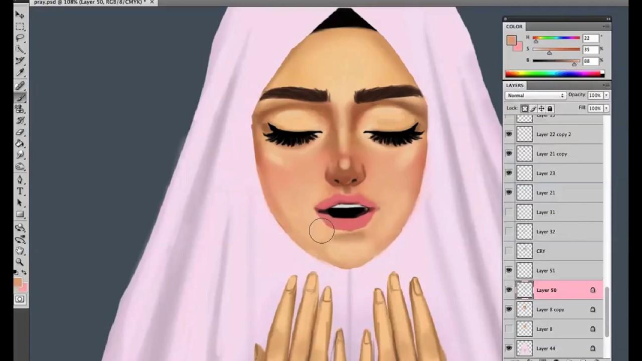 1280x720 Muslim Girl