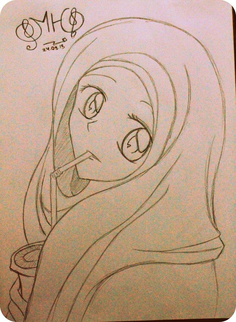 765x1044 Muslim Girl By Rhenshi