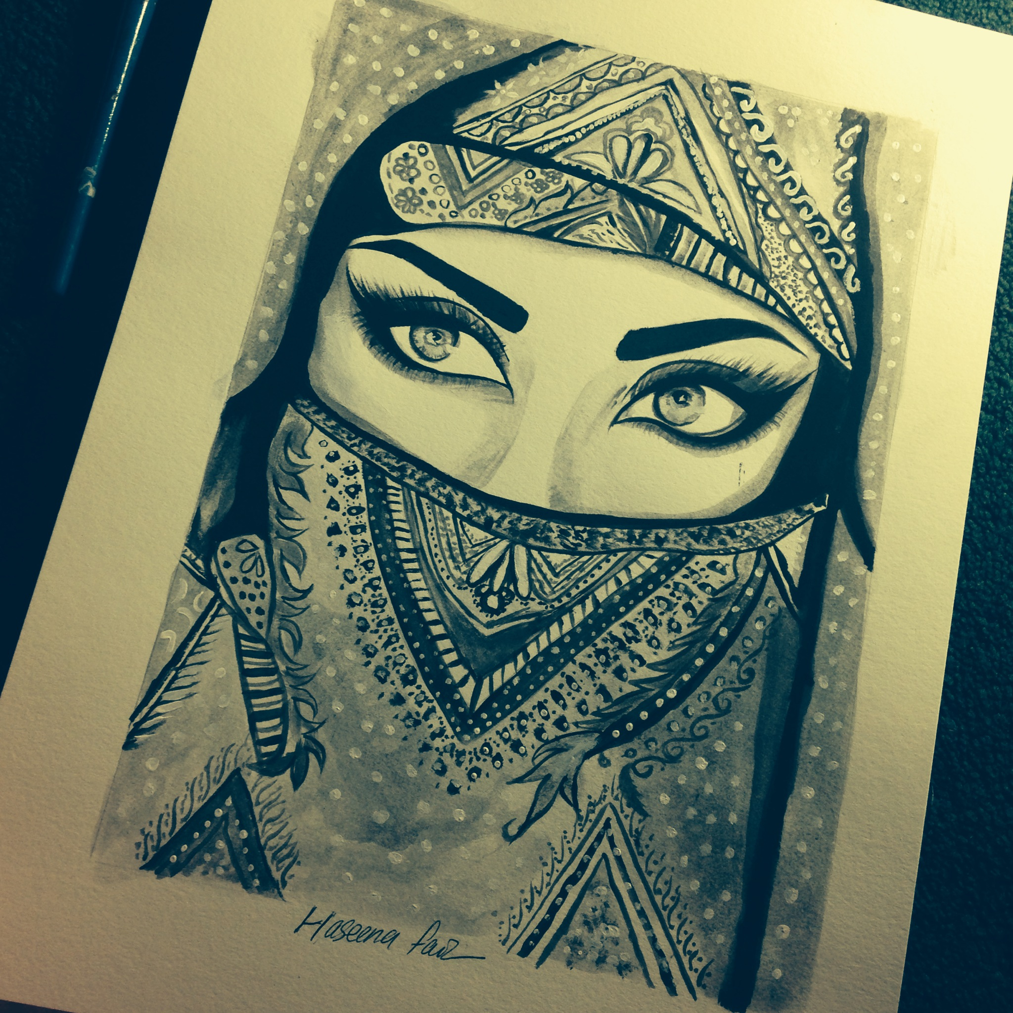2048x2048 Pics How To Draw A Muslim Girl