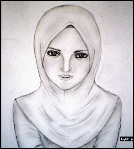 541x600 muslim girl by azahgta on deviantart