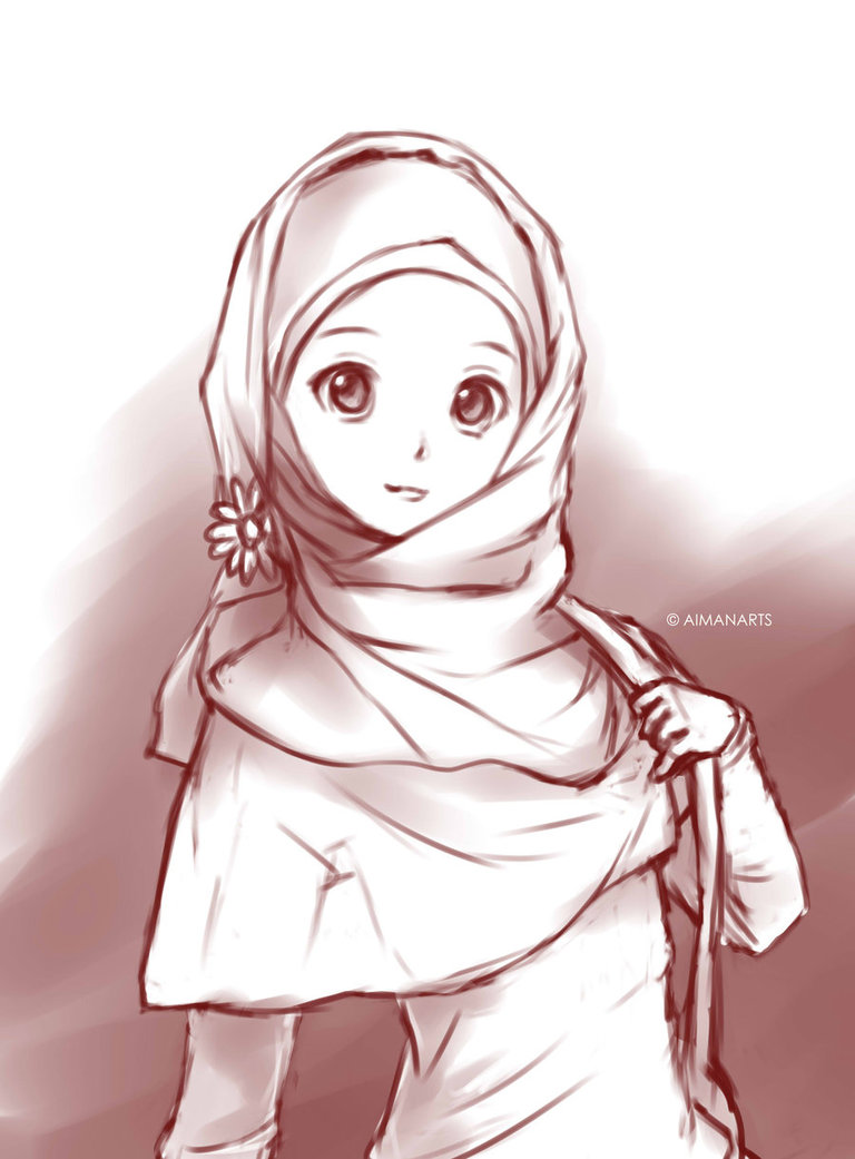 768x1041 Random Muslimah 8 By Kuzuryo On DeviantArt