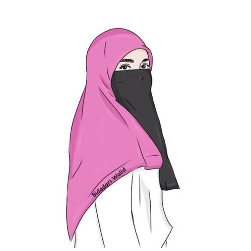 500x500 Art, Draw, Muslimah