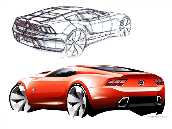 720x540 2015 Mustang From Sketch To Production