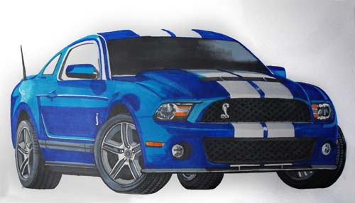 500x286 Drawing Cars How To Draw