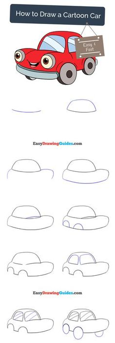 236x700 How To Draw A Car. Ford Mustang Shelby Drag Racing Muscle Car