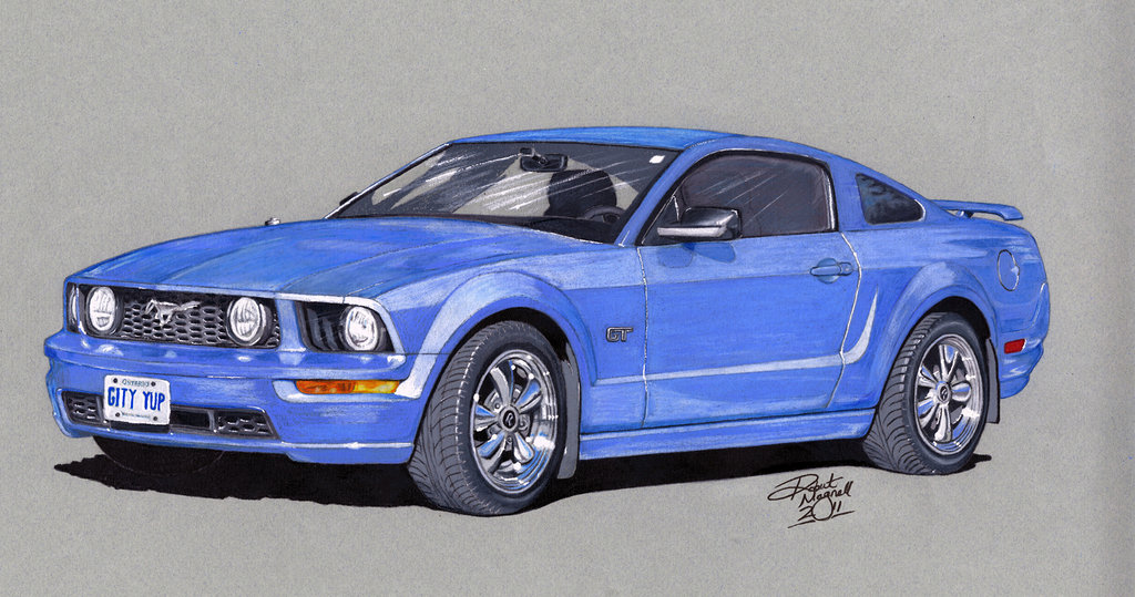1024x539 2007 Mustang Gt By Coldgopher