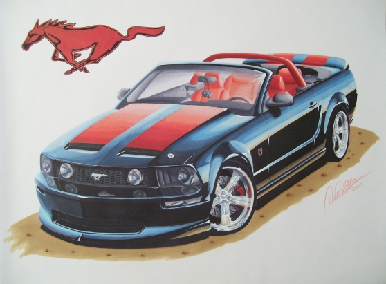 558x411 Drawing Of Mrvandermey's 2005 Mustang Gt Pictures
