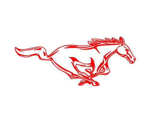 Mustang Logo Drawing At Getdrawings Free For Personal Use