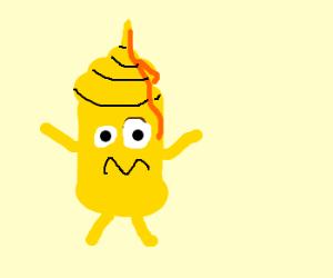 300x250 Crazy Mustard Man