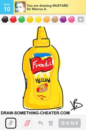 300x450 Draw Something Mustard Drawn On The Iphone Draw Something