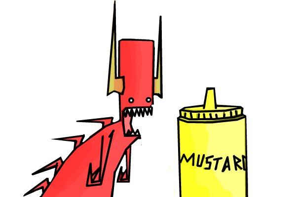 600x400 Mustard A Humor Speedpaint Drawing By Drawlikeapro