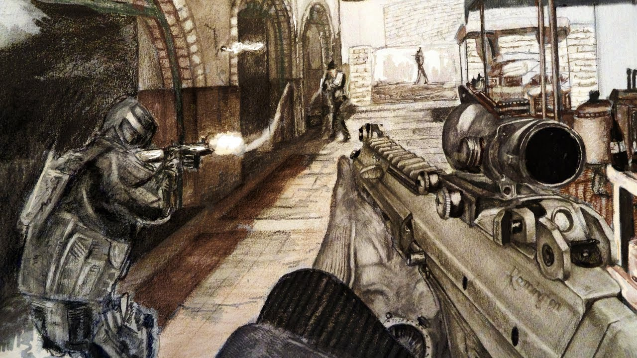 Mw3 Drawing at GetDrawings com | Free for personal use Mw3
