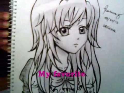 480x360 My Anime Drawings