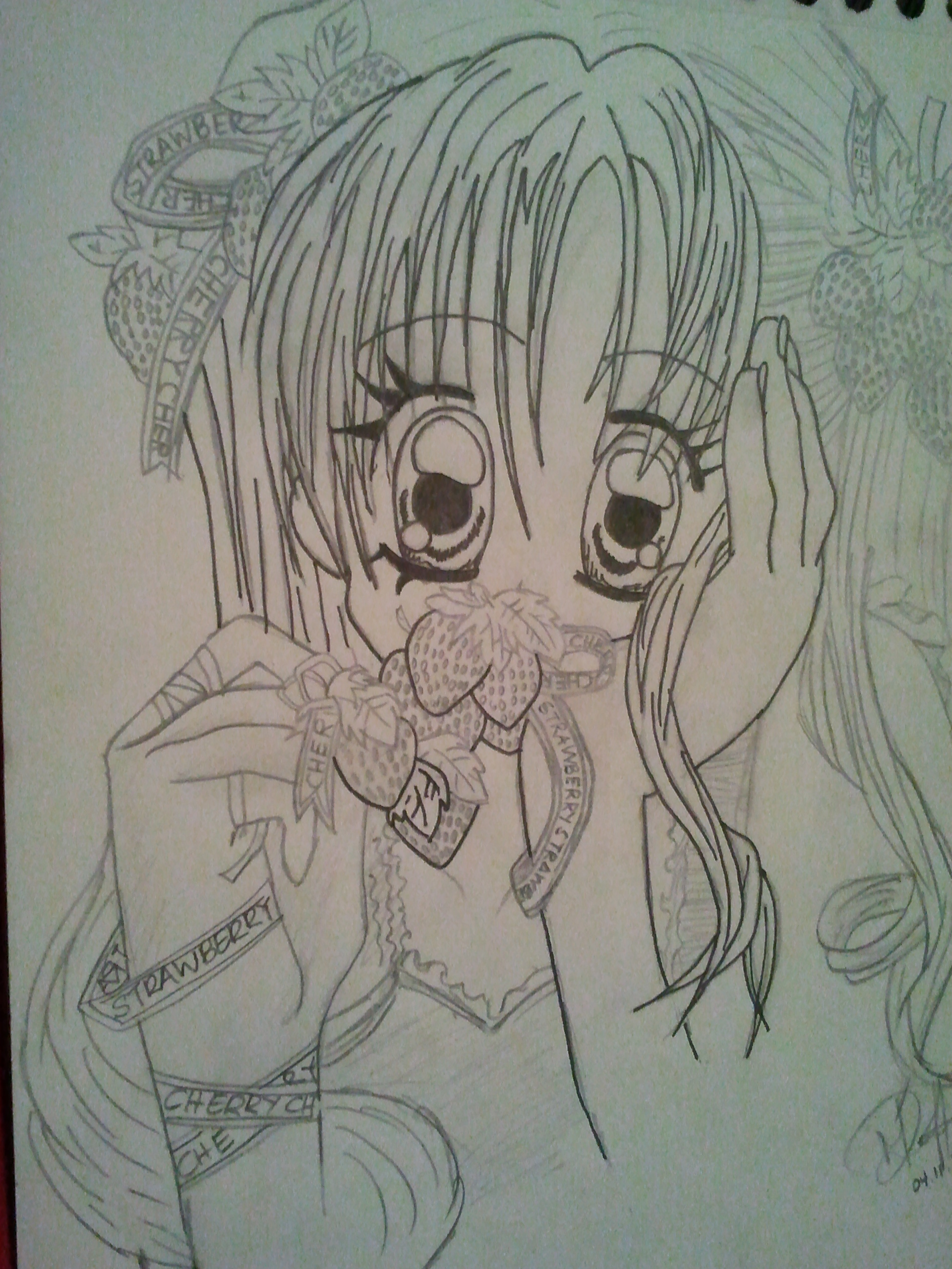 1920x2560 Drawing Anime Images My Random Anime Drawings~ Hd Wallpaper