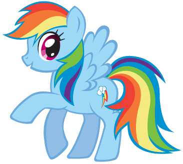 366x328 How To Draw Rainbow Dash From My Little Pony Friendship Is Magic
