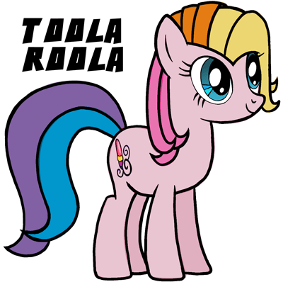 400x398 How To Draw Toola Roola From My Little Pony Easy Step By Step