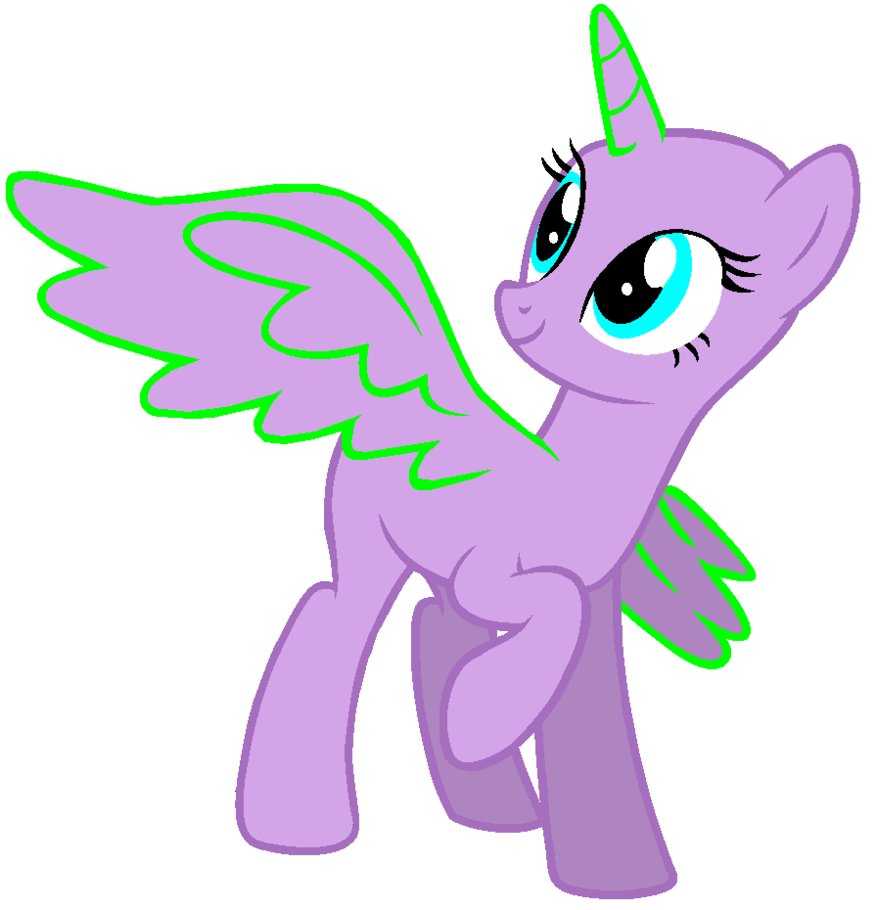 My little pony drawing template at free for personal use my little pony - My little pony en humain ...