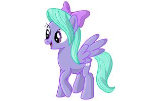 300x200 How To Draw Flitter From My Little Pony Friendship Is Magic