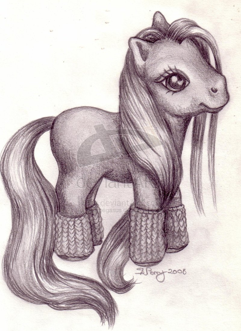 800x1098 Pencil Sketch Mlp Bluepegasus By Mylittlepony Fc