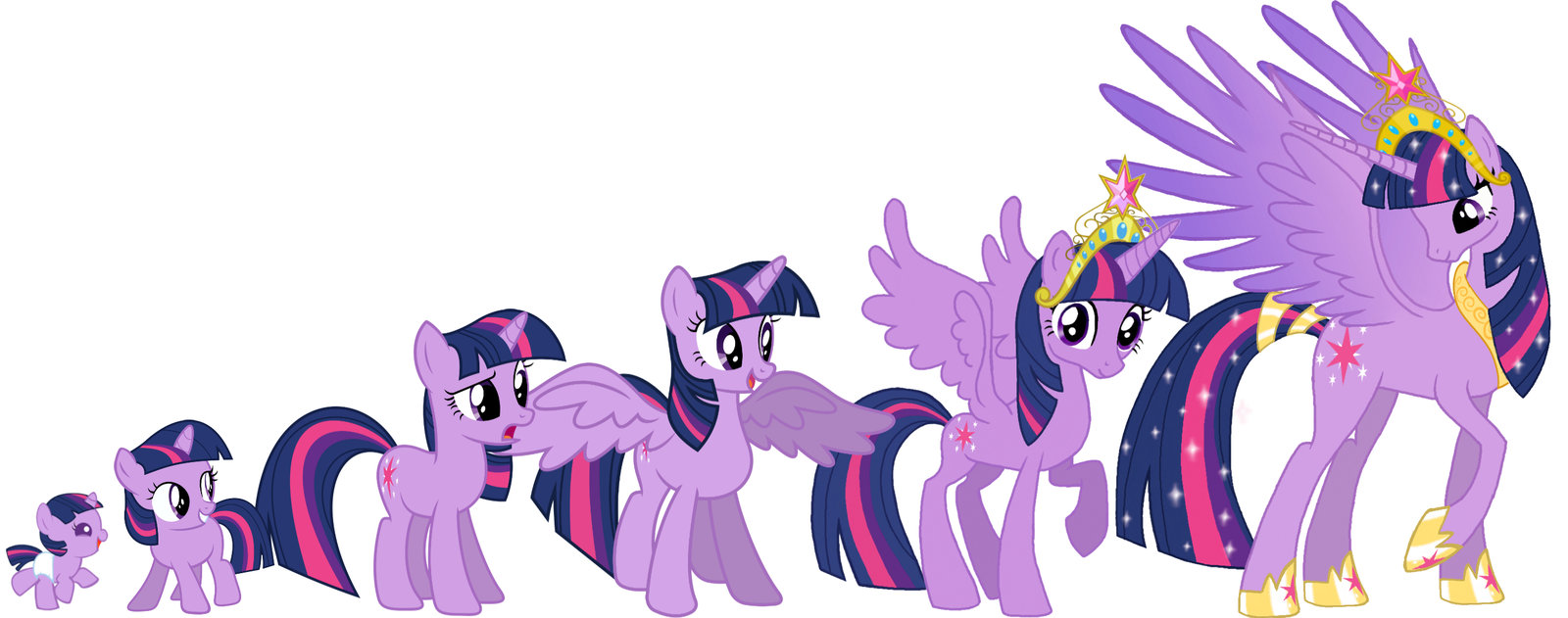My Little Pony Twilight Sparkle Drawing at GetDrawings.com   Free ...