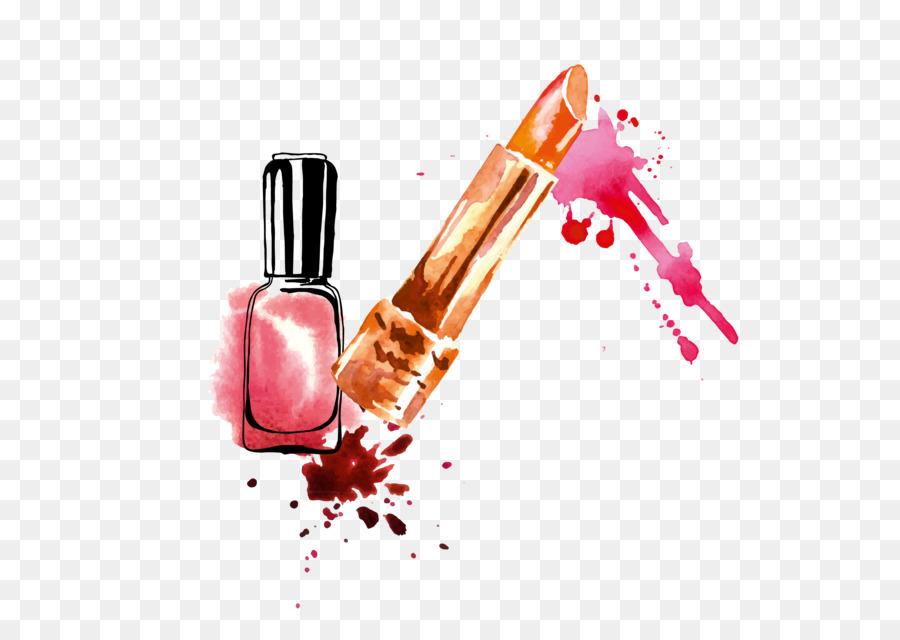 900x640 Lipstick Nail Polish Drawing