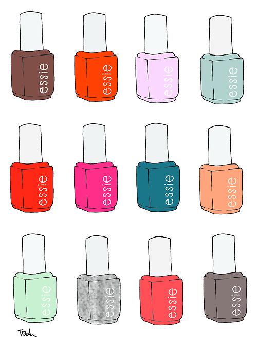 Nail Polish Drawing at GetDrawings.com | Free for personal ...