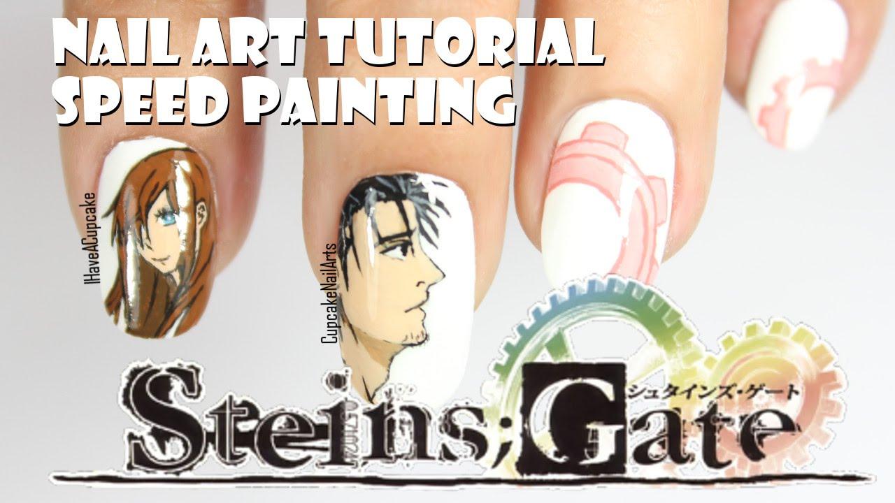 1280x720 Anime Nail Art Tutorial