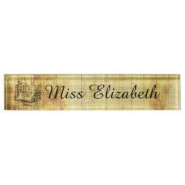 260x260 Drawing Desk Name Plates Zazzle