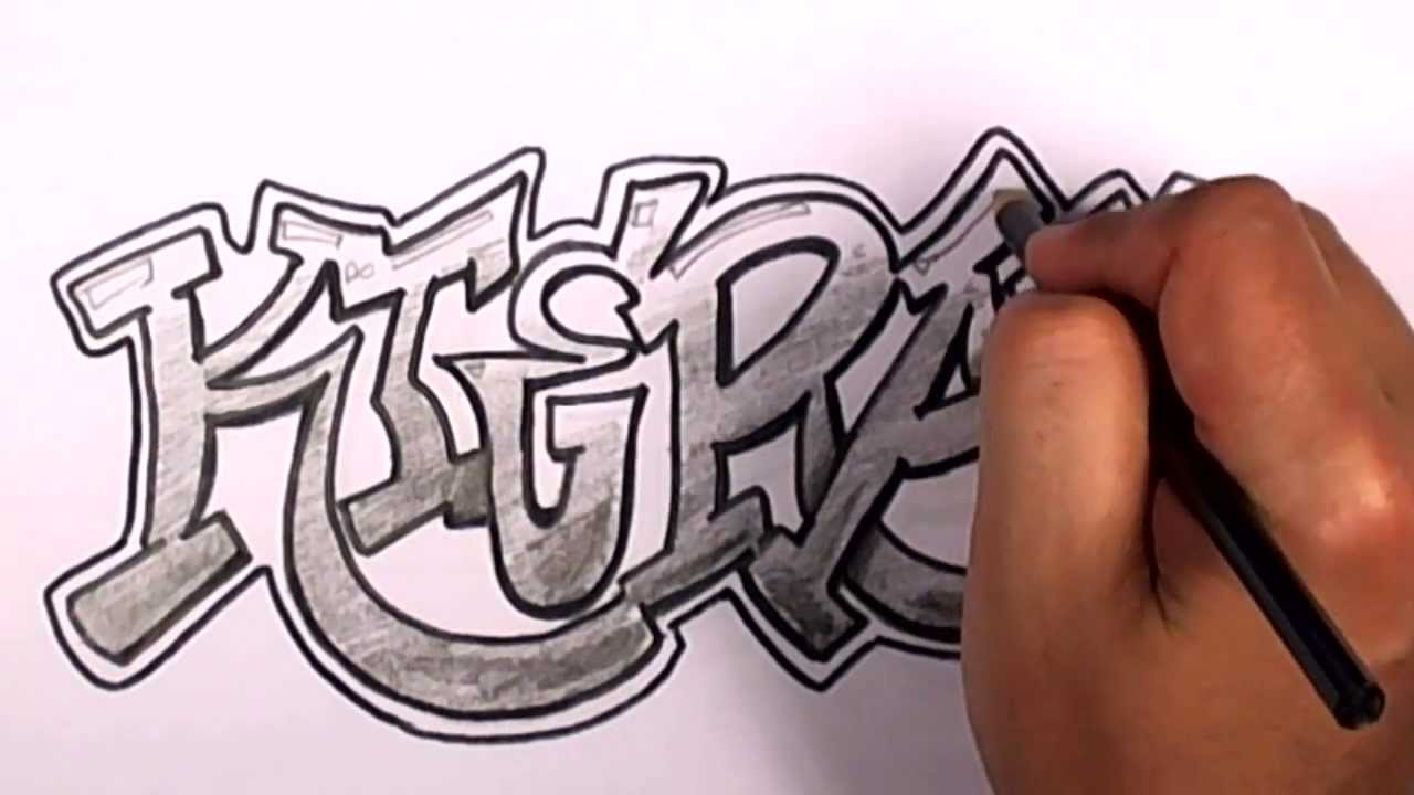 1280x720 How To Draw Graffiti Letters
