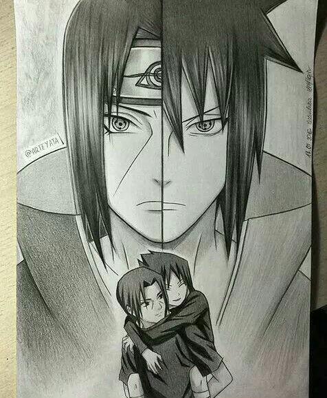 476x578 Itachi Uchiha And Sasuke Uchiha Naruto Itachi