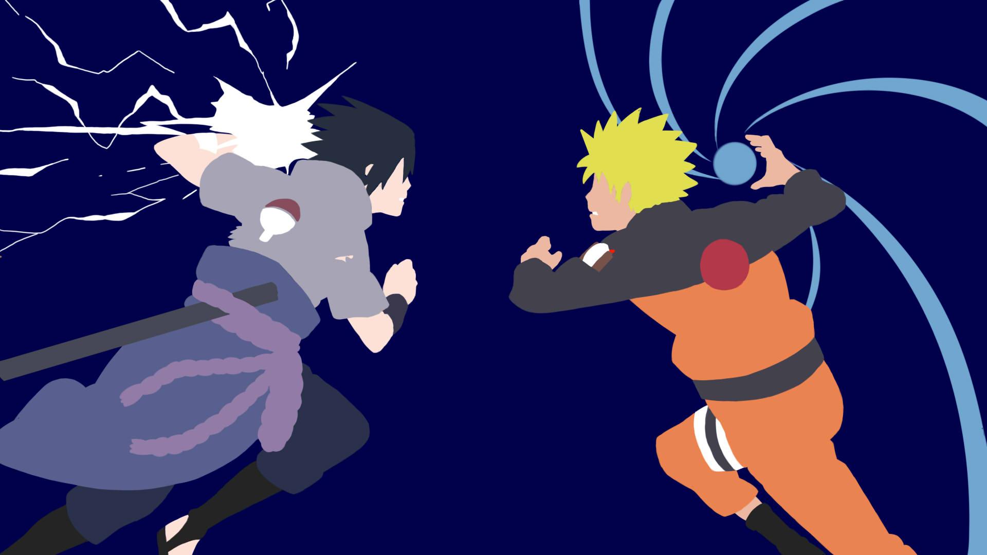 1920x1080 So I Decided To Draw Naruto And Sasuke Today. Naruto