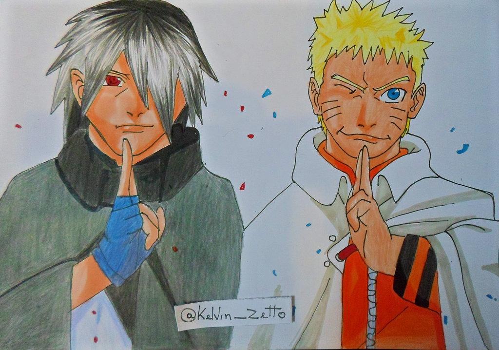 1024x718 Speed Drawing Naruto E Sasuke