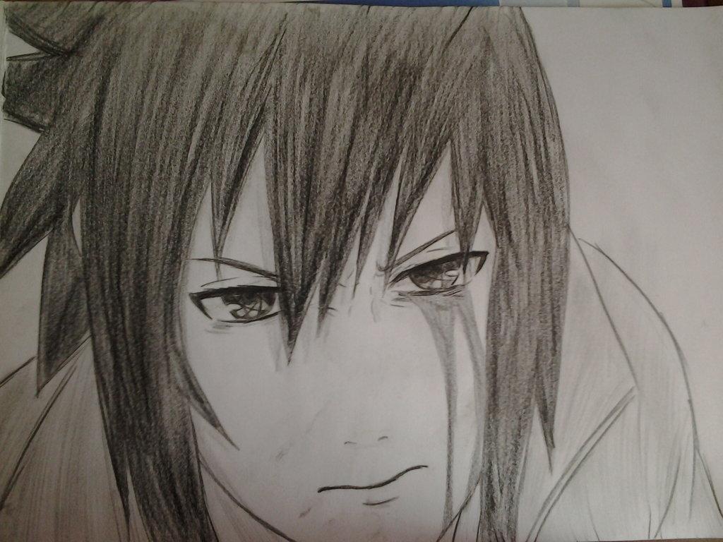 Draw naruto shippuden character anime tutorial video 1 1024x768 sasuke uchiha naruto shippuden by xnamida
