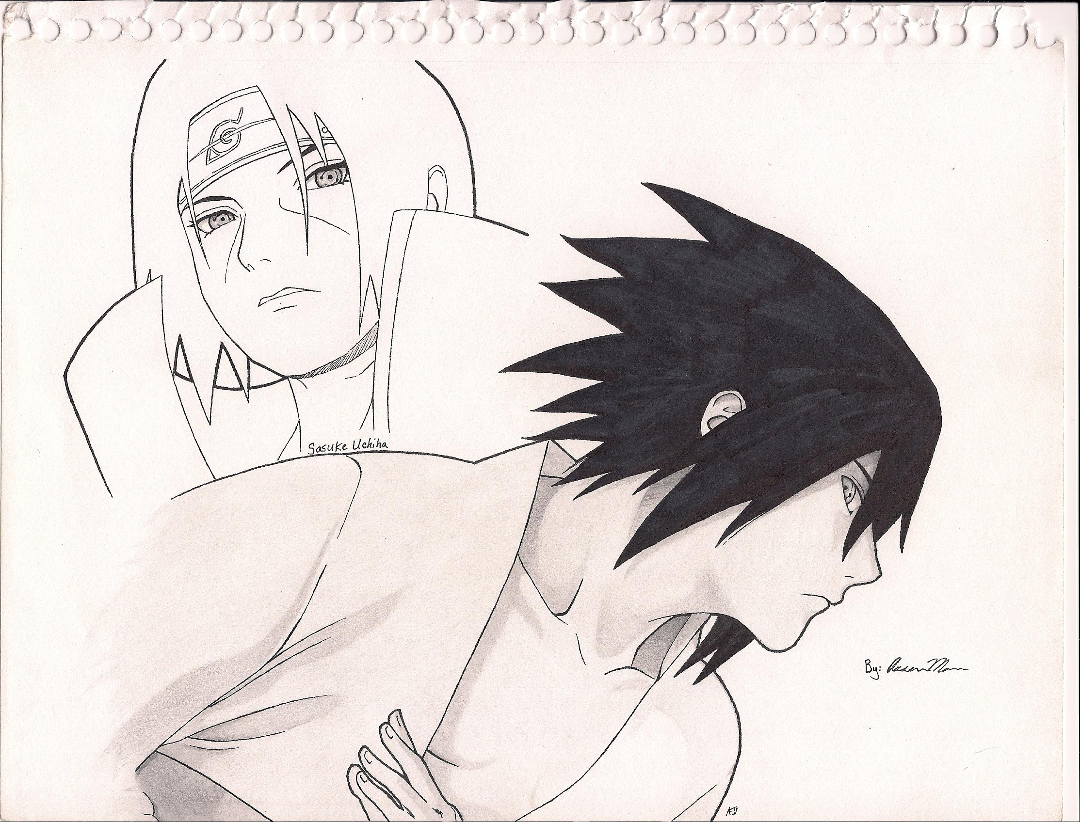 2227x1696 How To Draw Naruto Characters