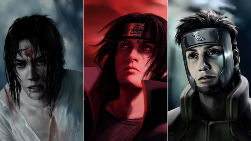 800x450 Naruto Characters, Gone Really Dark