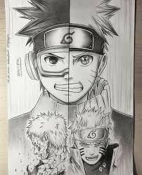 202x249 Amazing Naruto drawing From Instagram Naruto is BAE
