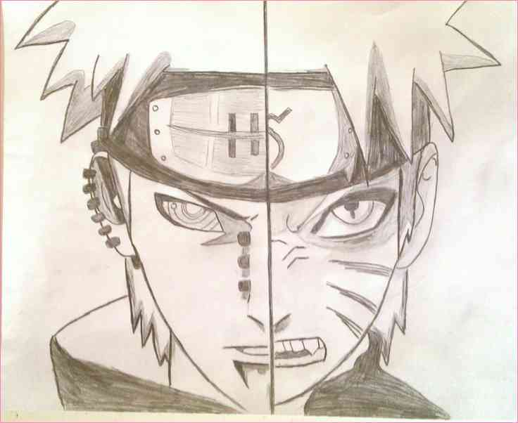 736x602 Anime Naruto Drawing Pencil Art Drawing
