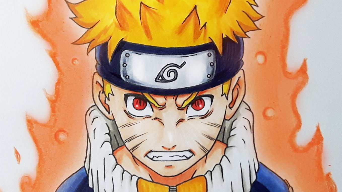 1358x764 How To Draw NARUTO Uzumaki