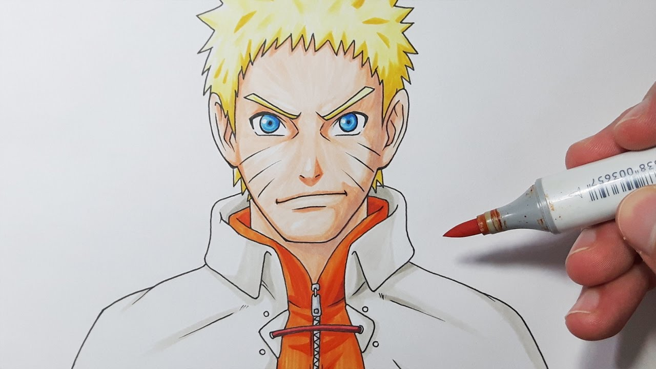 1280x720 How To Draw Naruto HOKAGE