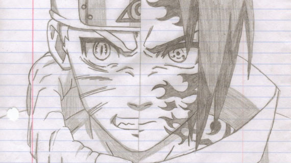 570x320 Naruto And Sasuke Drawing Naruto Drawings Sasuke Naruto Vs