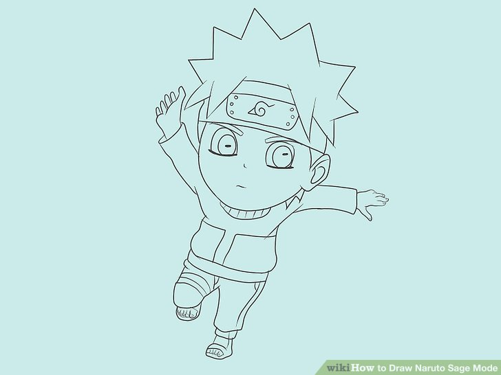 728x546 How To Draw Naruto Sage Mode (With Pictures)