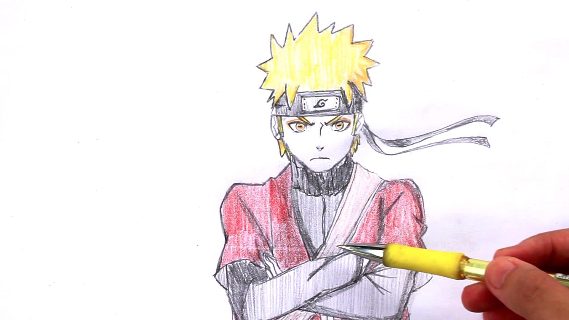 1920x1080 How To Draw Naruto From Naruto